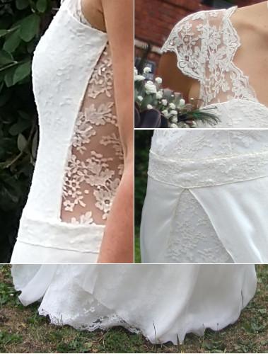 Robes de mariée, création sur mesure, région